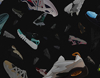 30 sneaker concepts for Adidas, Nike, Puma and Reebok