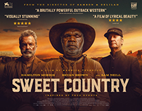Sweet Country - LFF Quad Poster