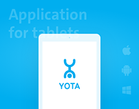 Yota App for tablet