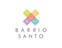 Barrio Santo Identity