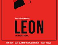 LEON minimalist poster
