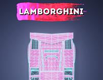 Lamborghini Countach Poster