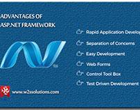 Advantages of Using ASP .Net Framework