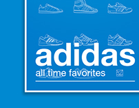 Adidas – all time favorites