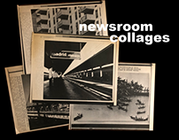 newsroom collages