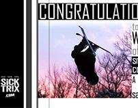SiCK TR!X - Web Banner - w/ site screenshots (3 pgs.)