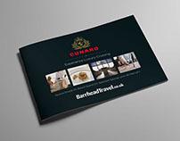 Barrhead Travel - Cunard A5 Mailer