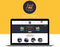 Feed Me - UI Design Service Concept