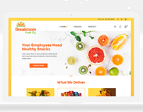 Breakroom Fruit Co ○ Web Design