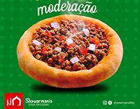 Shawarmania - Post para Rede Social