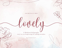 FREE | Lovely Modern Calligraphy Font