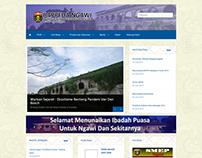 Portal Website Of Bappeda Ngawi