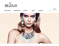 Bijoux website design
