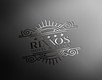 Rixxos Hotel & Resort logo / Rixxos S.A./ by Zollo