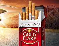 Gold Flake cigarette Key Visual options