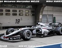 West McLaren Mercedes MCL32 - Mika Hakkinen -