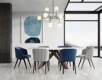 Models Sets / Dining Set Creed Velvet