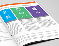 Employee Benefits Marketing Collateral || Mock-ups