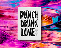 punch drunk love, a book about drinks, women and stuff