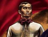 Decalouge of Andres Bonifacio Book Illustration