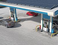 Portfolio Oil and Gas Station