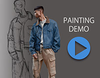 Painting Demo by Daniel Clarke.
