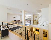 White loft architecture