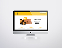 NORSE website design