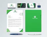 ''Green Hope'' Brand Identity Design