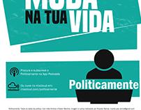 Logo e cartaz - Politicamente