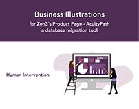 Business Illustrations for Zen3 (USA)