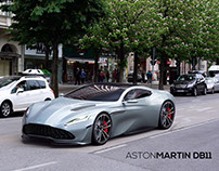 Aston Martin DB11 'Volare' Design Study