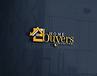 Logo Design For Home buyers Of Houston Real Estate Comp