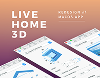 Live Home 3D Redesign