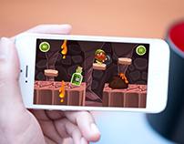Mobile game.