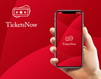 TicketsNow : Tickets Booking Mobile App