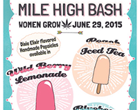 Mile High Bash Posters