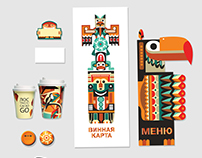 corporate identity & souvenir for mexican restaurant