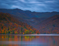 Autumn at Lake Goygol