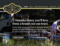 Webdesign Case Study - Auribee Manuka Honey