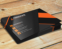 Modern Freedom Business Card