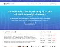 CRYPTOPOLITICS-Cryptocurrenncy Latest Updates Platform