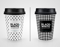 Black or White Coffee Mock-up