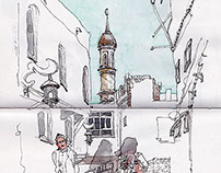 2014 sketching travel-June