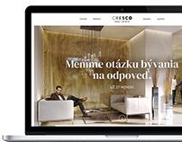 CRESCO web redesign