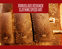 Marvelous Designer Character Clothing Speed Art