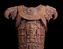 Mayan sculptures for UNICO 20º87º