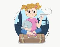 Logo design - Aurelia's Adventures
