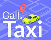 Order a Taxi App UI Design