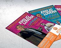 Emilio Lovera - Tour 2014